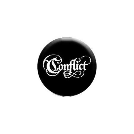 Conflict - gotické písmo