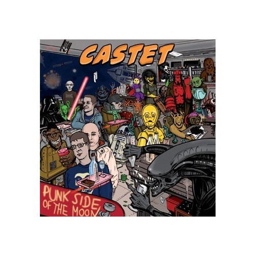 Castet-Punk side on the moon/Kings of punk