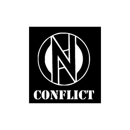 Conflict - logo a nápis