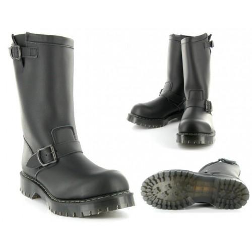 Airseal Engineers Boot (Black) - s ocelovou špičkou