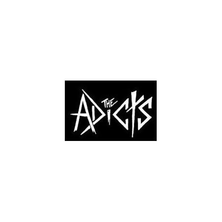 Adicts - bílý nápis
