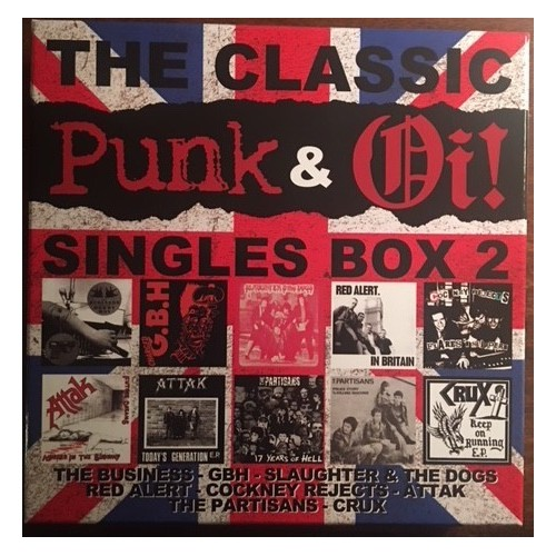 V/A The Classic Punk & Oi! Singles Box  2 (10x EP!)