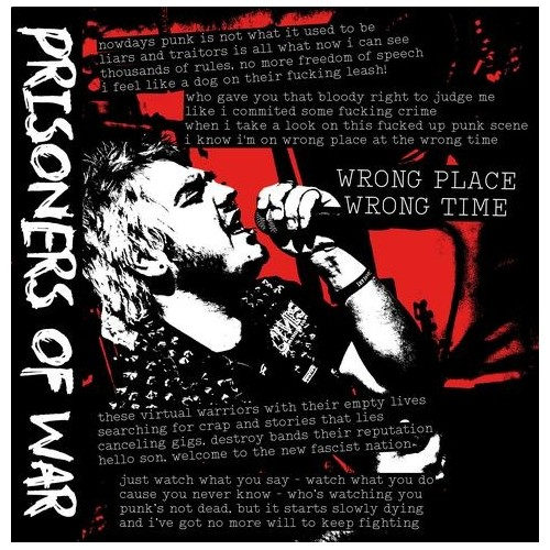 Prisoners Of War - Wrong Place Wrong Time