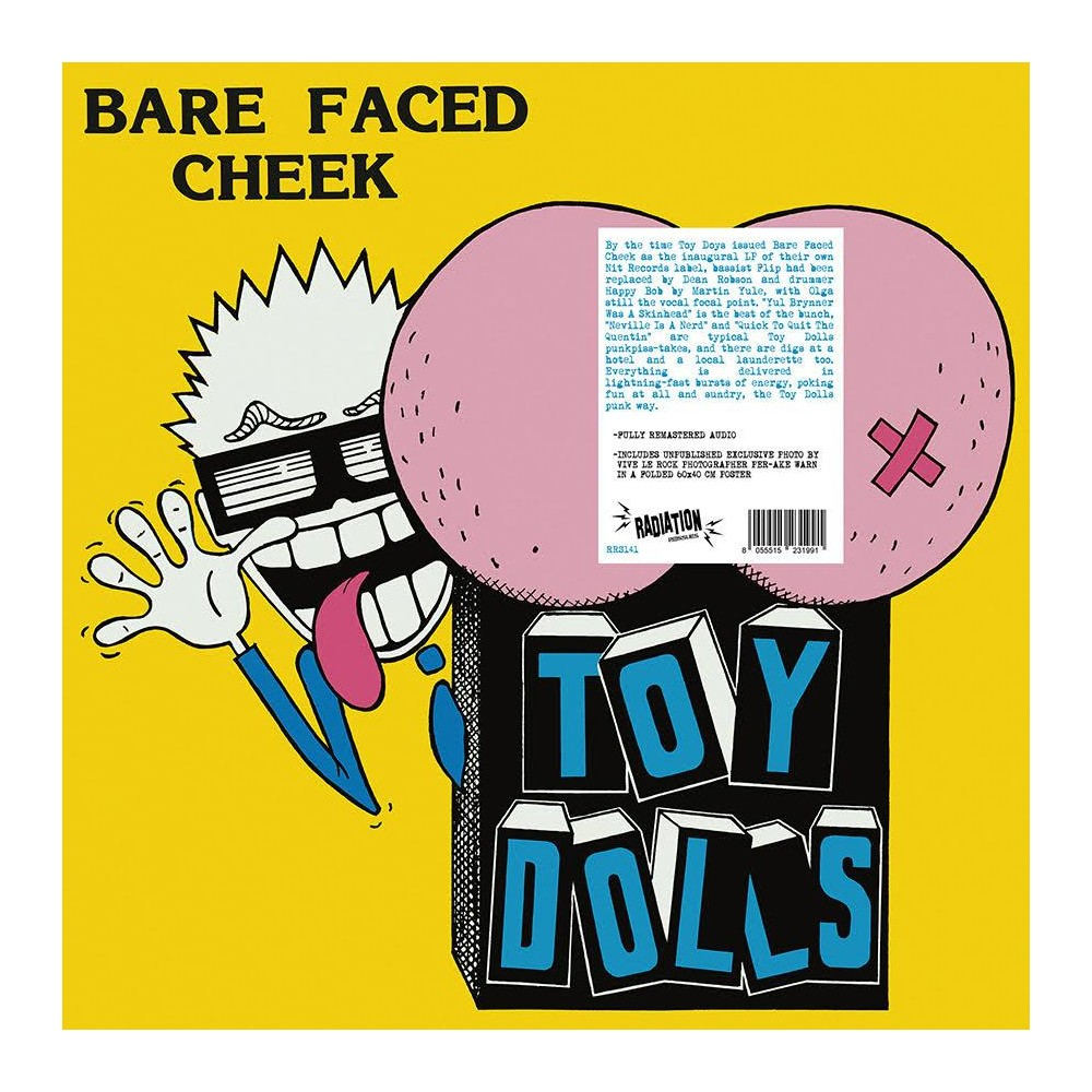 Toy Dolls - Bare faced cheek